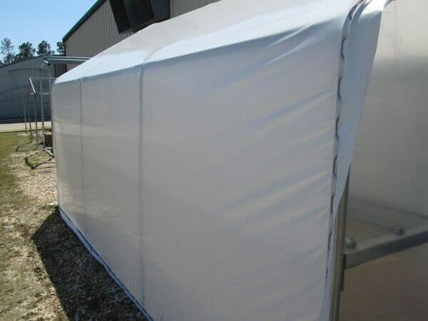 Riverstone Industries (RSI) 10ft x 16ft Carver Educational Greenhouse  R1016-P - roll up curtain