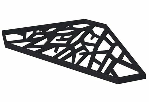 Black Side table for the VegTrug Liberty Raised Bed Planter
