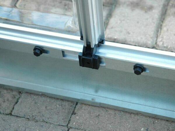 Palram 6ft x 16ft Snap & Grow Hobby Greenhouse - internal aluminum framework