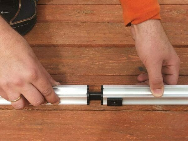 Palram 6ft x 16ft Snap & Grow Hobby Greenhouse - assembling the framework