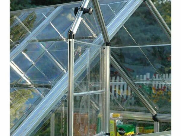 Palram 6ft x 16ft Snap & Grow Hobby Greenhouse - open window