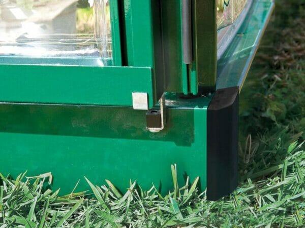 Palram 8ft x 8ft Balance Hobby Greenhouse - HG6108G - galvanized steel base