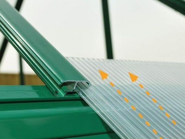 Palram 8ft x 16ft Balance Hobby Greenhouse - HG6116G - polycarbonate panels