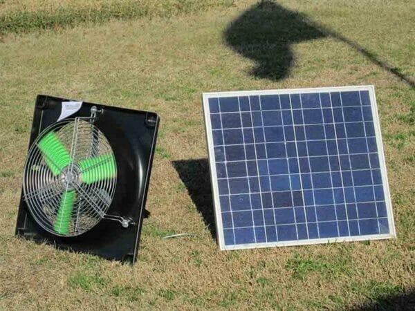 Riverstone Monticello Greenhouse 8x16 - Mojave Package - solar ventilator system