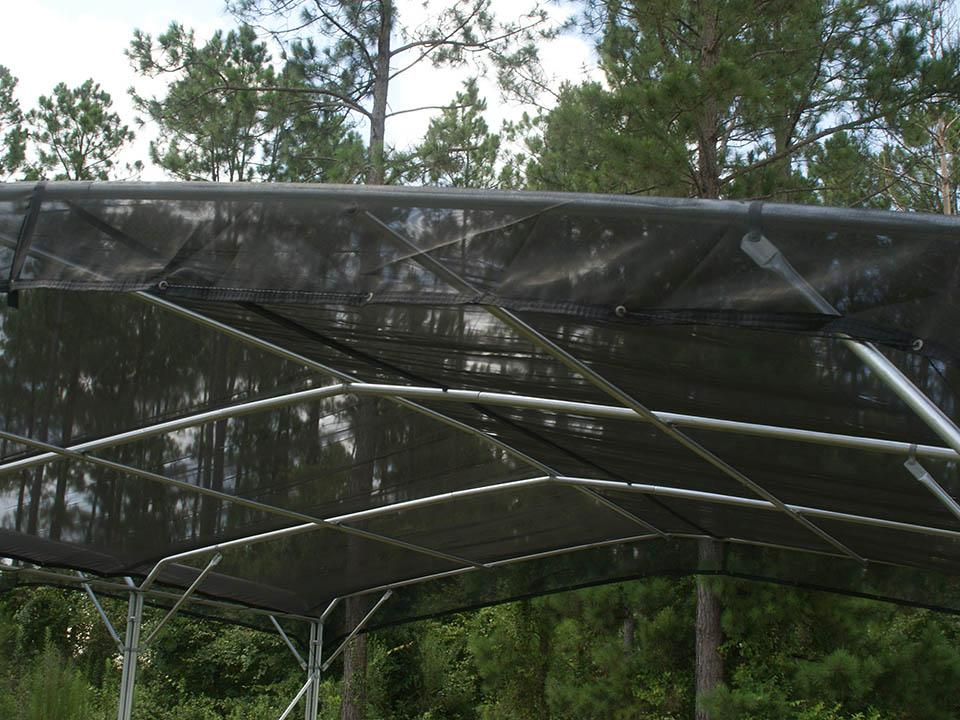 Riverstone Black Knitted Shade Cloth