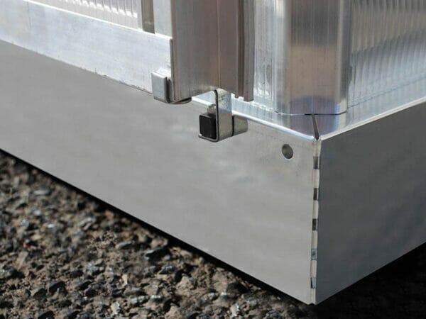 Palram Essence 8ft x 12ft Hobby Greenhouse - HG5812 - galvanized steel base