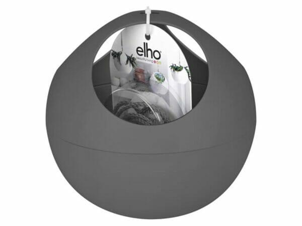 Anthracite ELHO Euro Hanging Planters