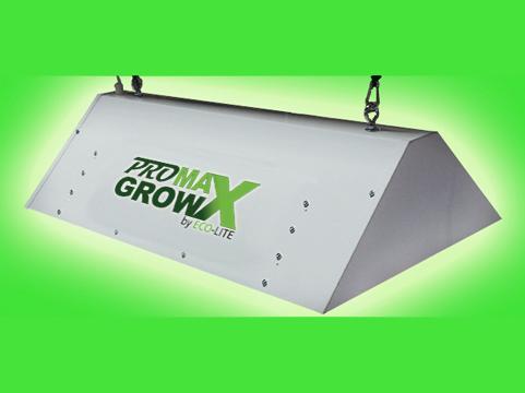GENESIS LED Powered Grow Light System GL600 - green background