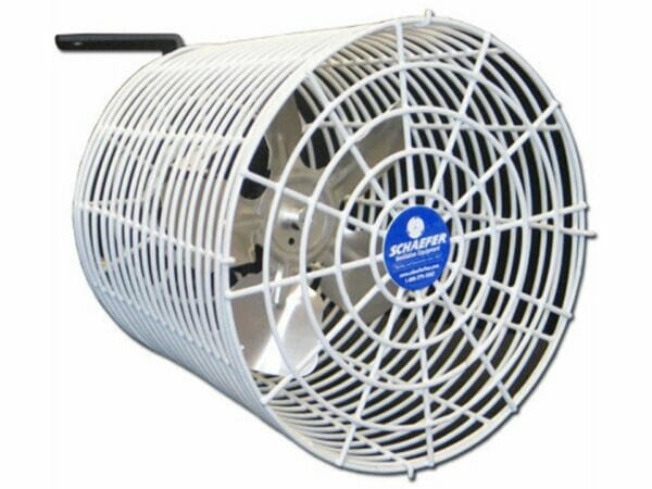 Solexx Universal Greenhouse Circulation Fan with white background
