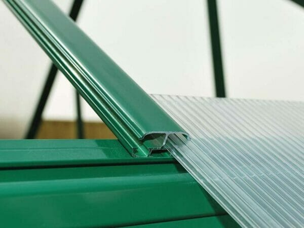 Palram Hybrid 6ft x 8ft Hobby Greenhouse-HG5508(G) - sliding polycarbonate panel