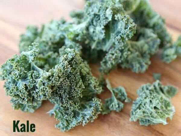 Frozen dried Kale