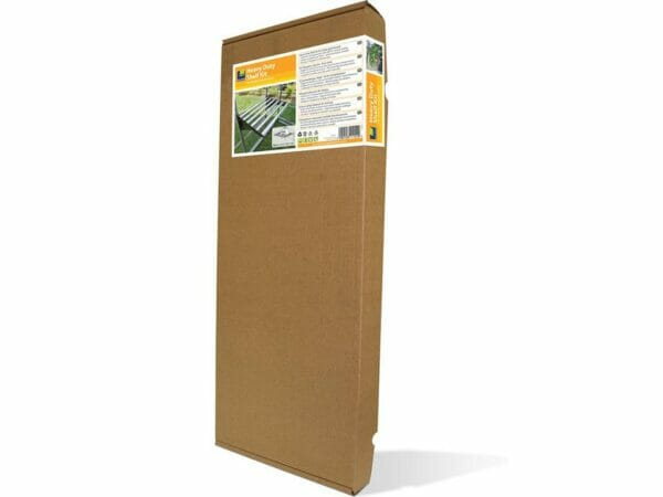 Palram 24.5in x 16.5in Heavy Duty Shelf Kit Full image packaging in white background