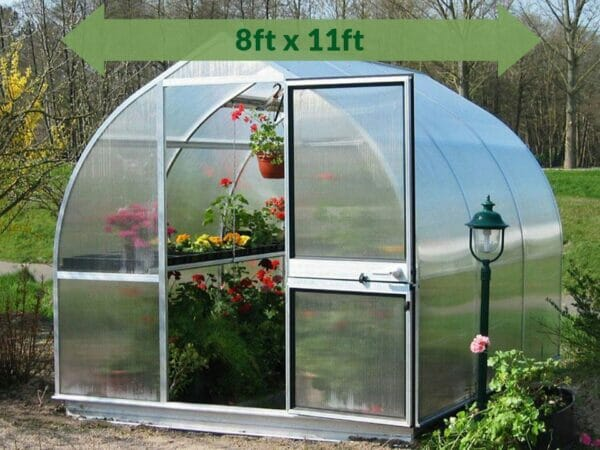 Hoklartherm Riga 3s Greenhouse 8x11