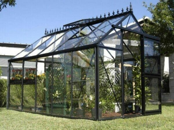 Junior Victorian Glass Greenhouse from the side