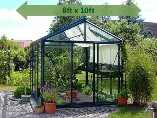 Janssens Royal Victorian VI 23 Greenhouse 8ft x 10ft