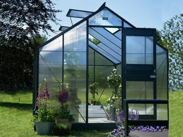 Juliana Junior Greenhouse 9ft x 12ft - Anthracite 6 mm Polycarbonate