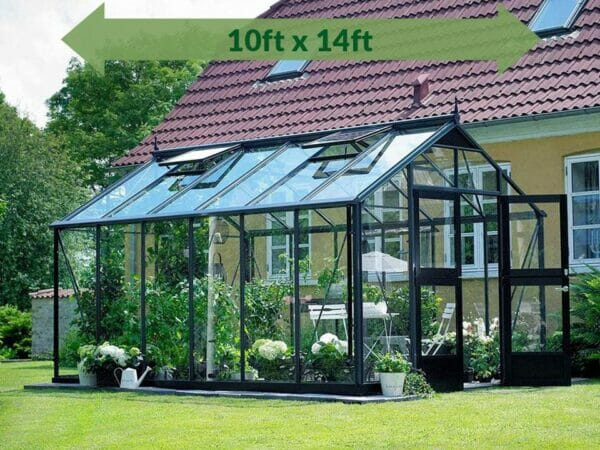 Anthracite/Black Juliana Oasis Greenhouse 10ft x 14ft