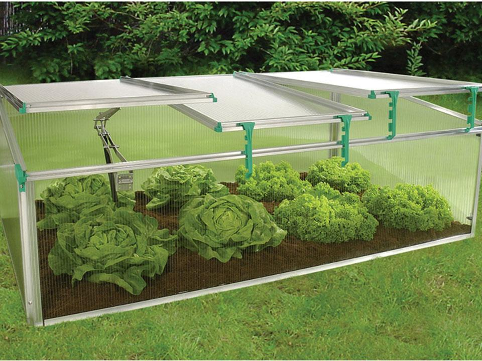 Juwel BioStar 1500 Cold frame with 3-sectioned lid