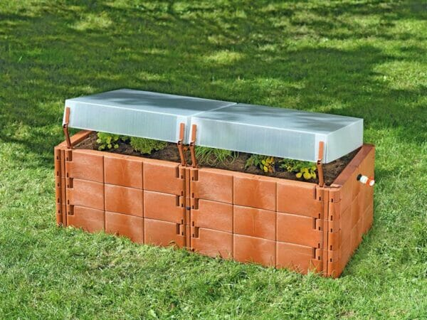Twin-Box Raised Bed Cold Frame