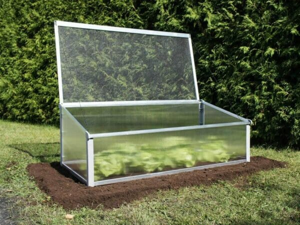 Juwel Year-Round Cold Frame with lid open