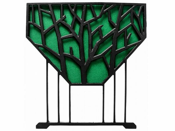 Side View of Green Liberty VegTrug Raised Bed Planter