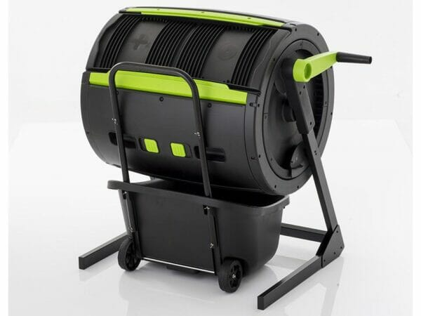MAZE Two-Stage Compost Tumbler with MAZE Composting Cart (Combo)