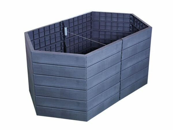Knock Out Image - Triple Raised Bed Set with Extensions