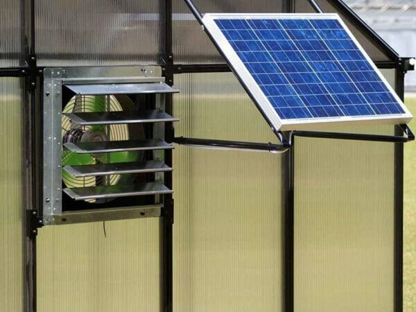 Installed Monticello Solar Powered Ventilation System