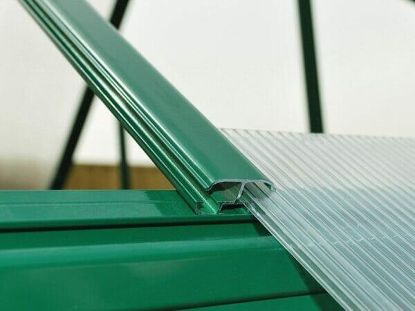 Palram Mythos 6ft x 8ft Hobby Greenhouse HG5008 - sliding polycarbonate panel