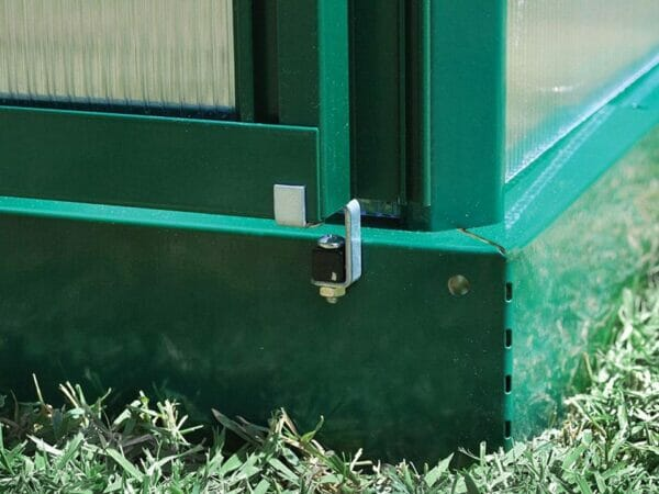 Palram Mythos 6ft x 4ft Hobby Greenhouse HG5005 - galvanized steel base