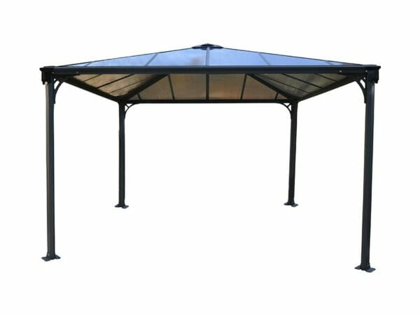 Palermo Hard Top Gazebo - white background
