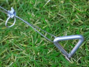 Anchored Palram Snap & Grow Anchor Kit