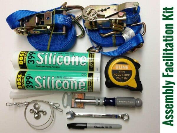 Items of the Riga XL Assembly Facilitation Kit