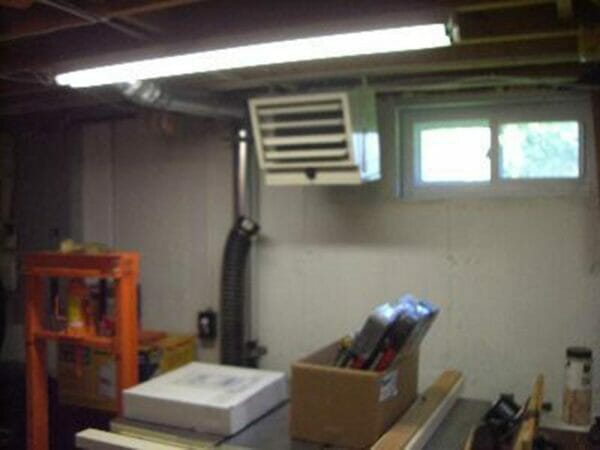 Installed RSI Greenhouse Heating System