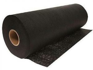 Rolled Riverstone Ground Covering - white background