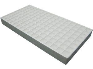 128 plug RSI Hydroponic Floating Seeding Tray - white background