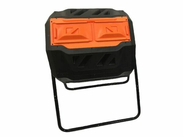 RSI Tumbler Composter in white background