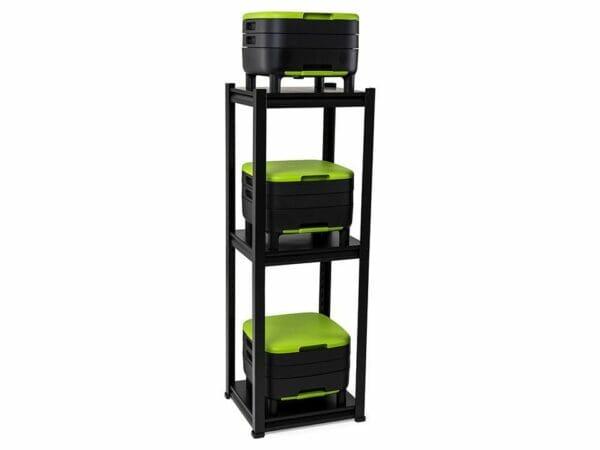 Large MAZE Worm Farm Starter Kit: 3 MAZE Worm Farms in a 3-tier shelf