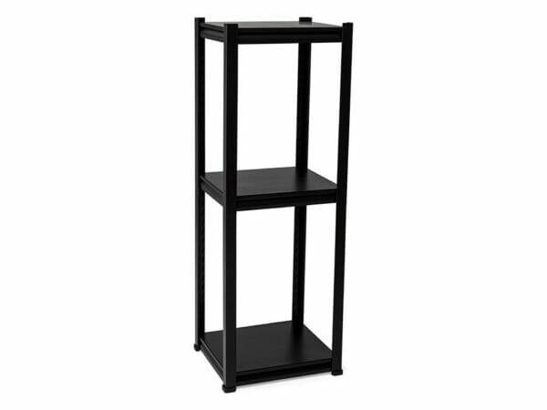 Black 3-tier shelf