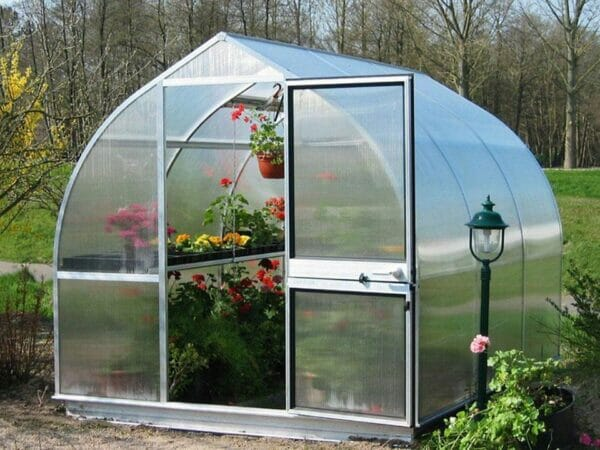 "Hoklartherm Riga 3s Greenhouse 7'8""x10'6"""
