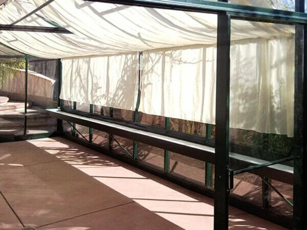 Premium Kit of the Janssens Royal Victorian VI46 Greenhouse 13ft x 20ft includes shade cloths and shelves