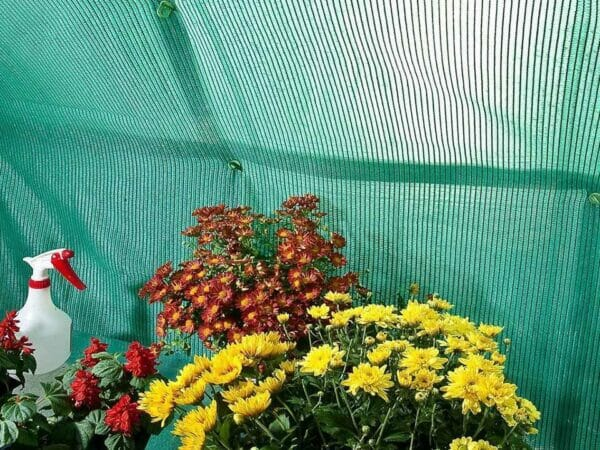 Shade kit for Palram and Rion greenhouses - close up