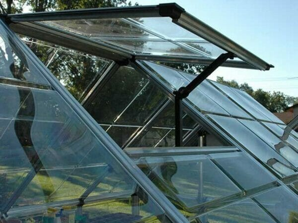 Palram 8ft x 16ft Snap & Grow Hobby Greenhouse - HG8016 - open roof vent