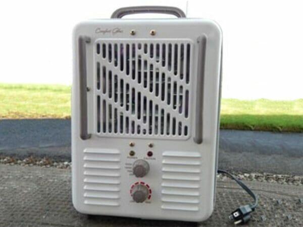 Solexx Portable Electric Heater - grass background