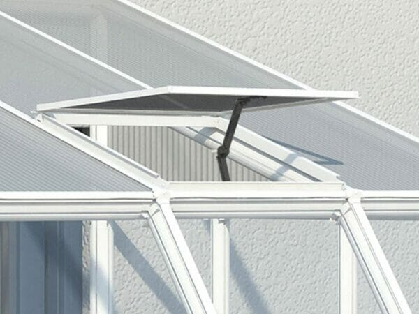 Rion 8ft x 10ft Sun Room 2 Greenhouse - HG7610 - open roof vent