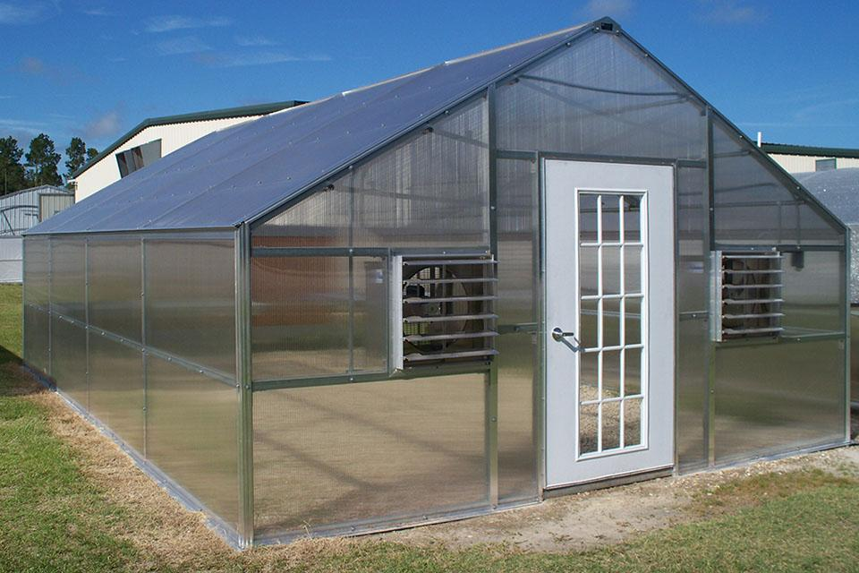 Commercial greenhouse for commercial purpose