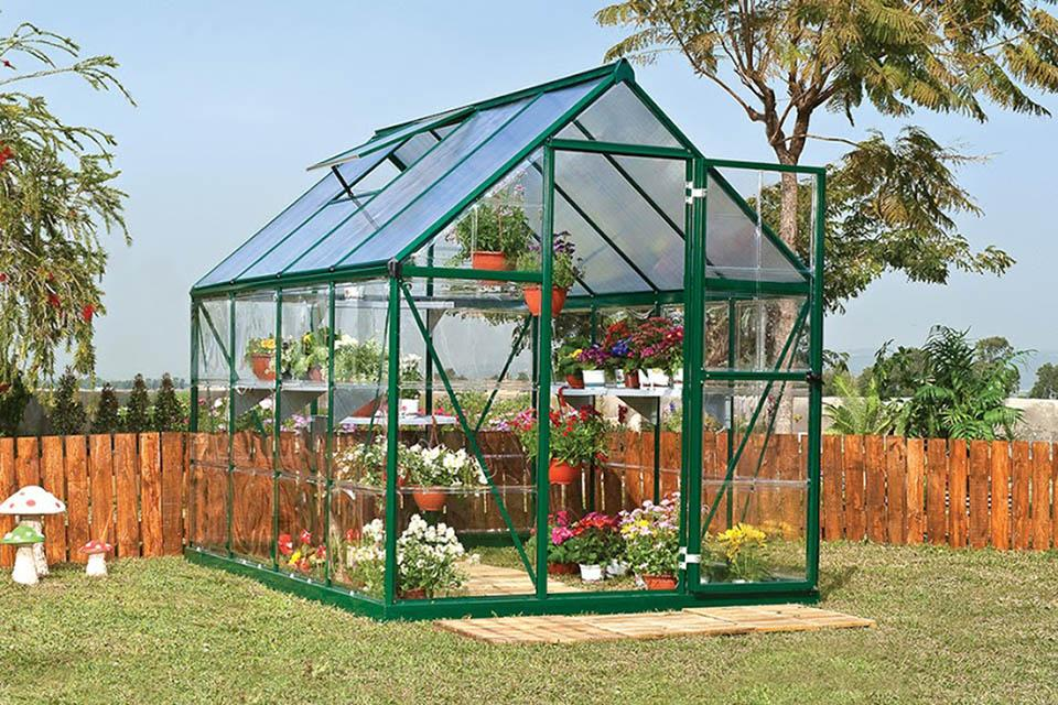 Conventional Greenhouse for hobby gardeners