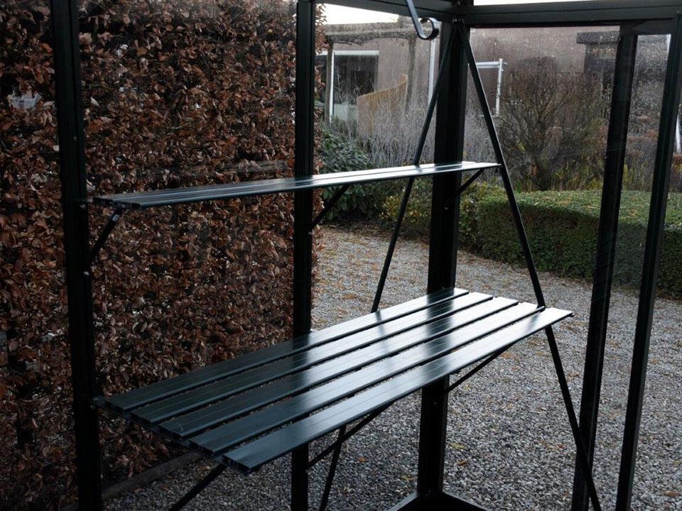Shelving For Victorian & Riga Greenhouses - Green, 2