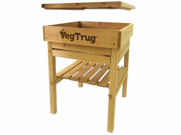 VegTrug Kids Work Bench - Natural FSC 100% - Open Compartment