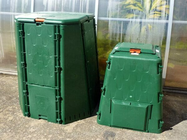 The Aeroquick Composter 77 and 187 Gallon Models